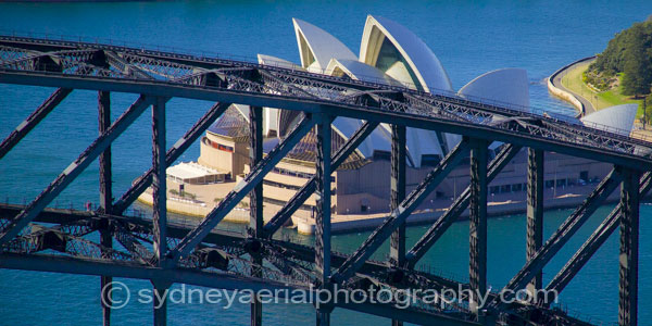 Sydney Harbour Bridge Sydney Opera House Aerial Photography